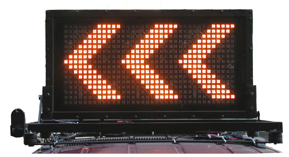 Variable Message Board Sign By Mcdermott