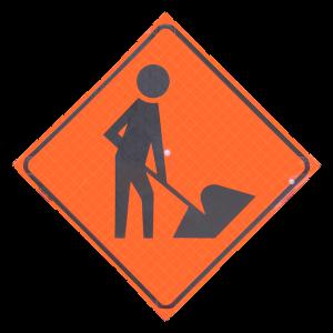 MEN-AT-WORK SIGN